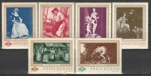 Romania #1907-12  MNH F-VF CV $4.15 (V922L)