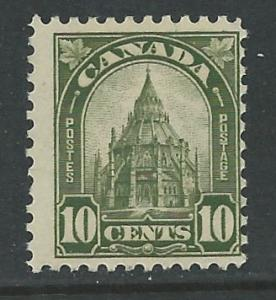 Canada # 173 Parliament Library 1930  (1)  Unused VLH