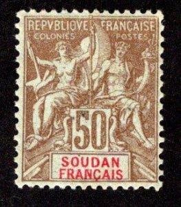 FRENCH SUDAN  SC# 17  F/MOG