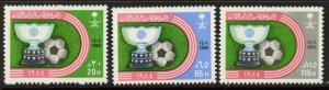 Saudi Arabia 942-4 MNH - Sports, World Cup Soccer, Football
