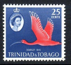 TRINIDAD  AND TOBAGO  -- 1960-67   sg292   25 cents  MM