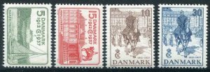 HERRICKSTAMP DENMARK Sc.# 258-61 Anniversary Mint NH Catalogue Value $42.00