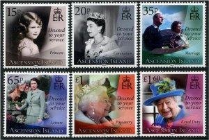 2021 Ascension Queen Elizabeth's 95th Birthday (6)  (Scott NA) MNH