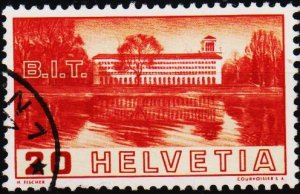 Switzerland. 1938 20c. S.G.382  Fine Used