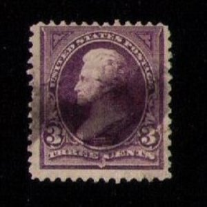 US Sc 253 Used  3c F-VF