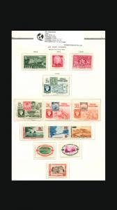 VINTAGE:CUBA 1954 OG NH ,. LOT CUBP1954YASST SCOTT C107...... .