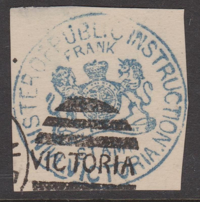 Victoria Minister of Public Instruction Frank Stamp