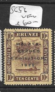BRUNEI (PP2603B)  MBE 10C  SG 56  VFU