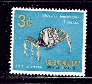 Ryukyu Is 173 MNH 1968 issue    (ap2313)