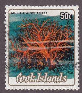 Cook Islands O44 Melithaea Squamata O/P 1986