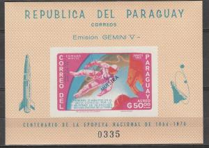 Paraguay #918a MNH F-VF Imperf CV $45.00 (SU4454)