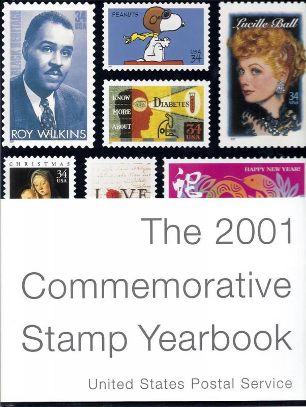 USPS 2001 Commemorative Album