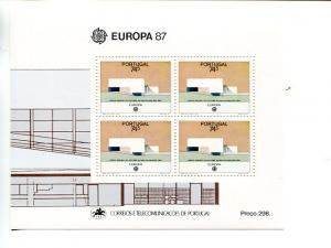 Portugal  Europa 1987 sheet  VF NH