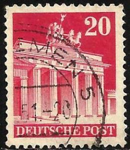 Germany 1948 Scott# 646a Used perf 14