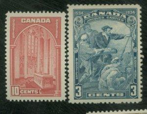 Canada #208 241 MINT VF OG NH Cat $23