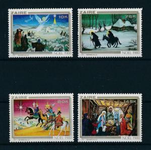 [98462] Zaire 1980 Christmas Weihnachten Noël Christ Horses  MNH