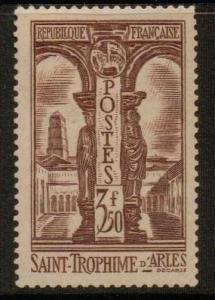 FRANCE SG527 1935 3f 50 BROWN MTD MINT