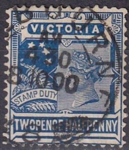 Victoria #183  F-VF Used CV $15.00 (A19038)