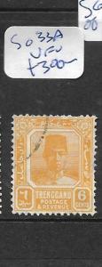 MALAYA TRENGGANU (P1201B) 6C  SG 33A  VFU