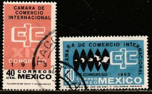 MEXICO 933, C271, Int Chamber of Commerce Congress Used. VF. (1081)