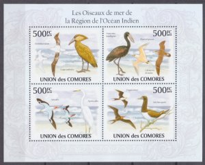 2009 Comoro Islands 2697-2700KL Birds 9,00 €