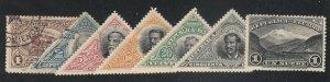 Ecuador - 1908 - SC 174-80 - HR/Used - Complete set