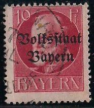 Bavaria 139 Used - King Ludwig III