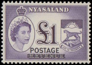 Nyasaland Protectorate #112-122, Complete Set(11), 1963, Never Hinged