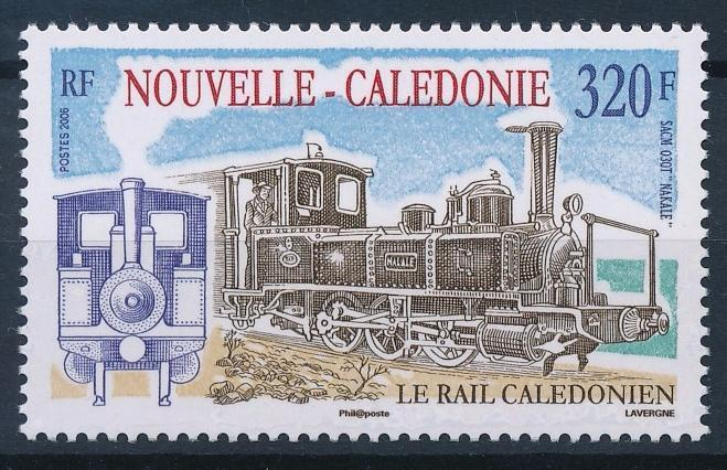 [63558] New Caledonia 2006 Railway Train Eisenbahn Chemin de Fer  MNH