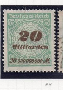 Germany . 1923 October Inflation Period Mint Hinged 20Million. 244726