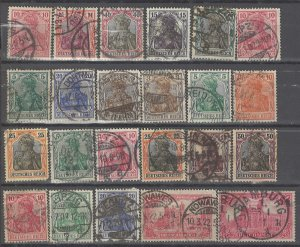 COLLECTION LOT # 3650 GERMANY 23 STAMPS 1900+ CLEARANCE CV+$31