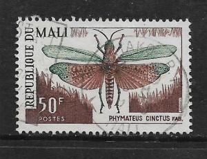 MALI, 101, USED, INSECTS