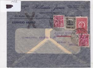 Brazil 1946  stamp cover Ref 9046