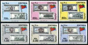 HERRICKSTAMP ERITREA Sc.# 322-27 1999 Bank Notes Mint NH