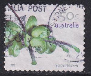 Australia 2618 Green Spider Flower 2007