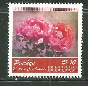 Penrhyn MNH 483 Flowers