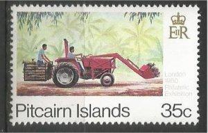 PITCAIRN ISLANDS, 1980, MNH 35c, Transport Scott 192c