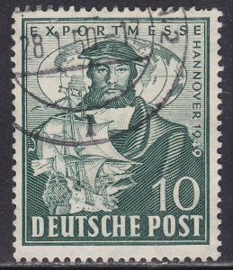 Germany 662 USED 1949 Herman H. Wedigh 10pf