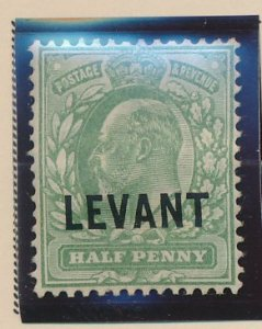 Great Britain, Offices Turkish Empire (Levant) Stamp Scott #15, Mint Hinged -...