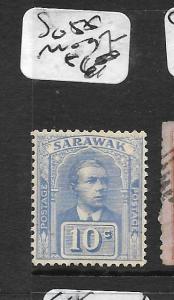 SARAWAK  (PP2803B)  10C  SG 55  MOG