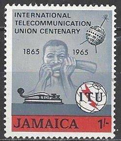 Jamaica    247  MNH  ITU Centennial