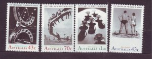 J23796 JLstamps 1991 australia set mnh #12a,b-7 photography
