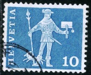 SWITZERLAND #382, USED - 1960 - SWIT106