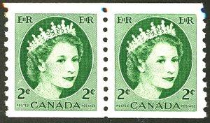 CANADA #345 MINT PAIR OG LH