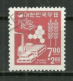 1966 Korea #B8  Surtax to  Help the Needy used.