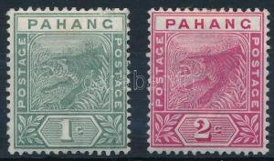 Malaysian States stamp Pahang Hinged 1891 Mi 5-6 WS239051