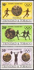 Trinidad & Tobago #223-227 MH