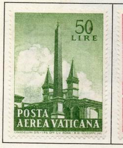 Vatican City 1959 AIR Early Issue Fine Mint Hinged 50L. 158894