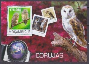 2014 Mozambique 7604/B960 Birds / Owl 10,00 €