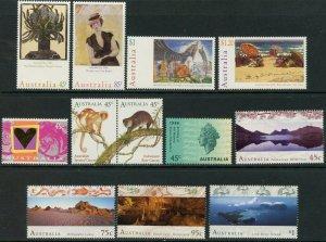 AUSTRALIA Sc#1476//1571 1996 Year with 16 Sets & 3 S/S OG MNH